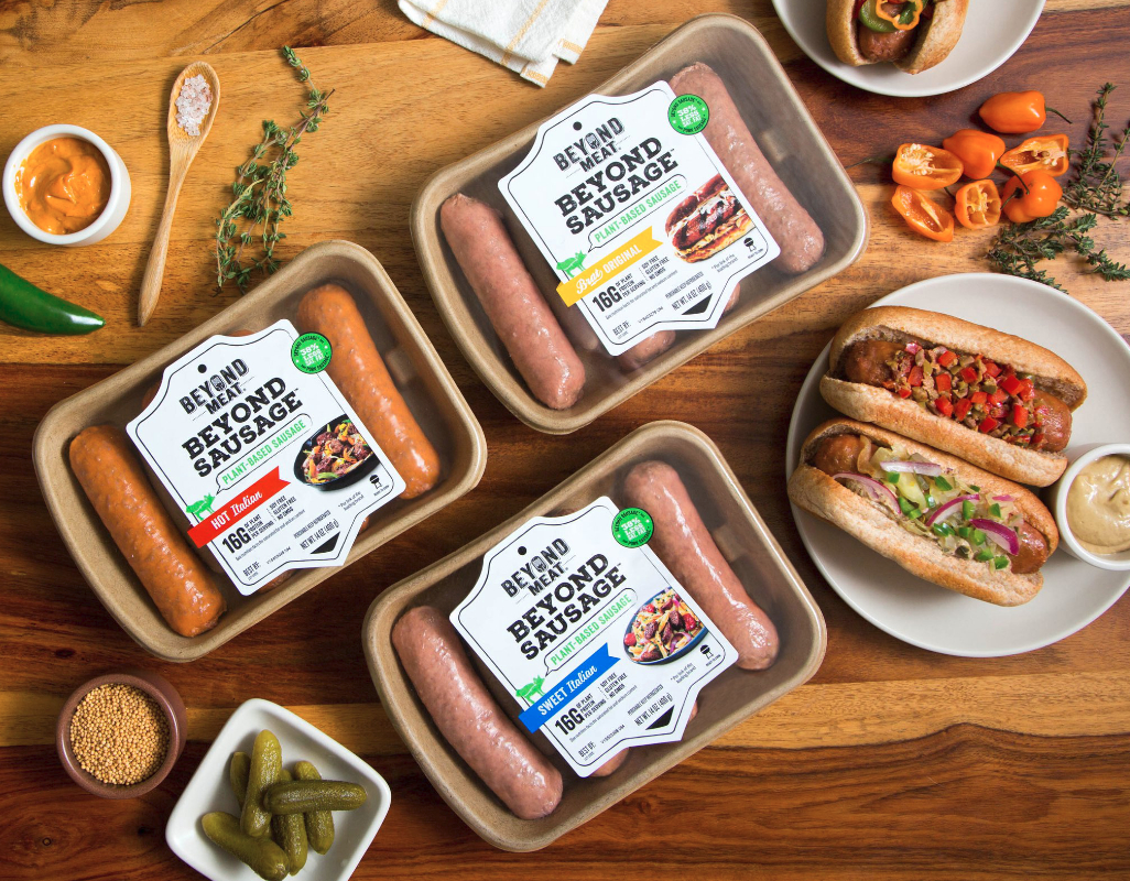 Beyond Meat plant-based Beyond Sausage