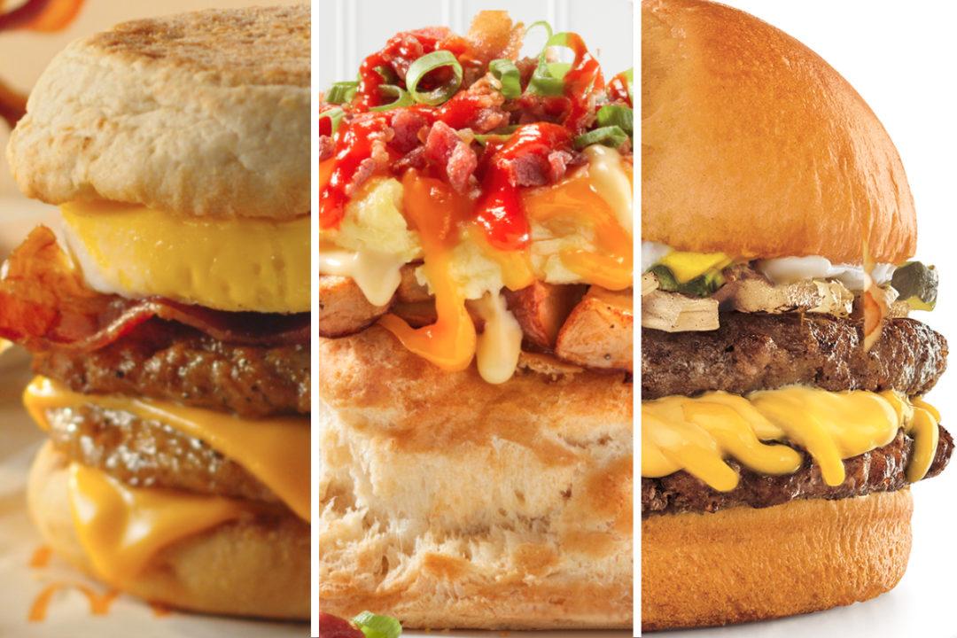 Bigger is better menu items