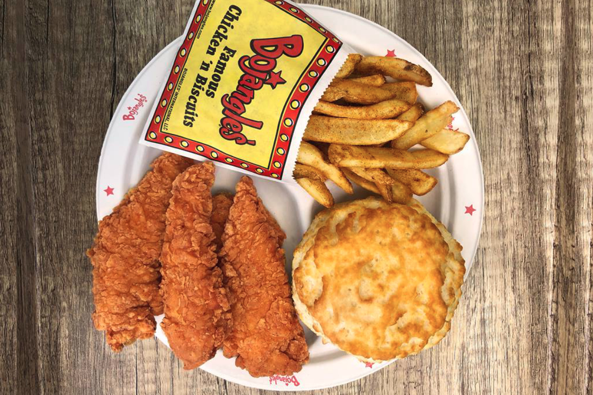 Bojangles Inc chicken and biscuit meal