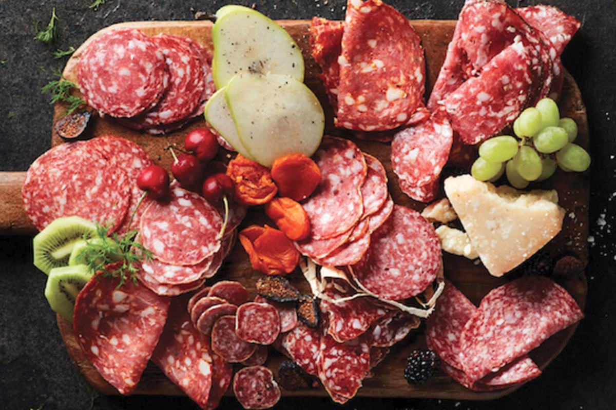 Columbus Craft Meats deli platter