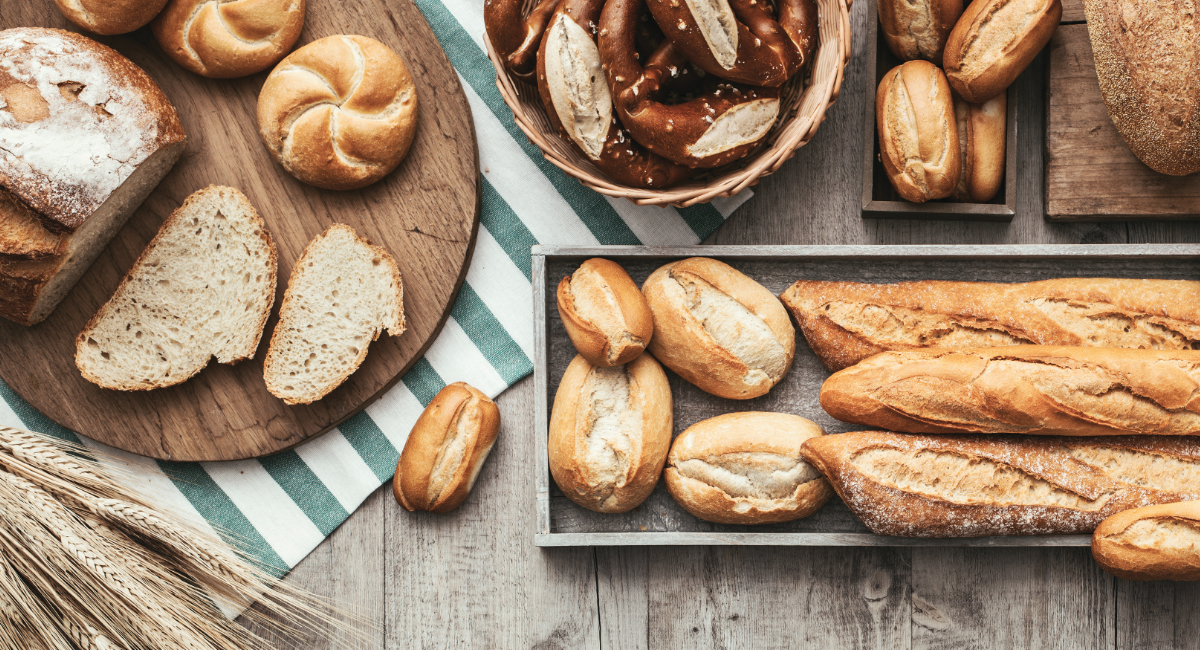 Various calorie-reduced bread varieties