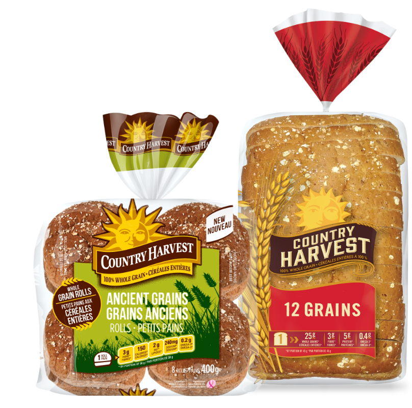 Weston Foods Country Harvest bread and buns