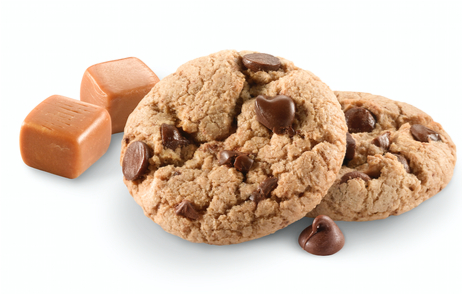 Girl Scouts Caramel Chocolate Chip cookies