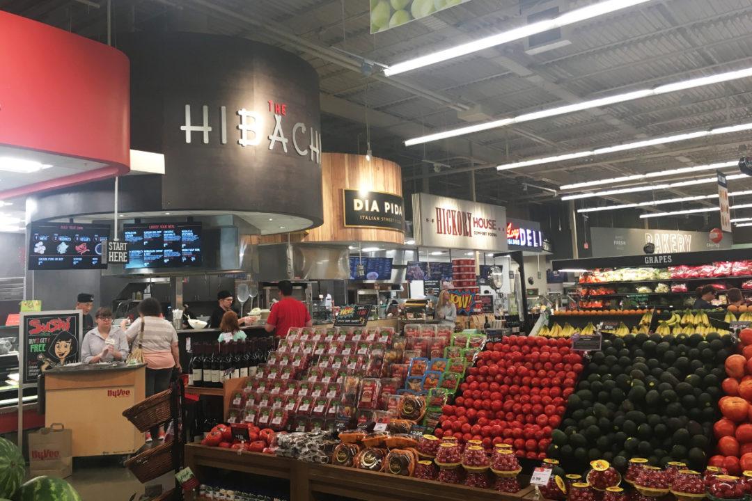 Grocery store perimeter