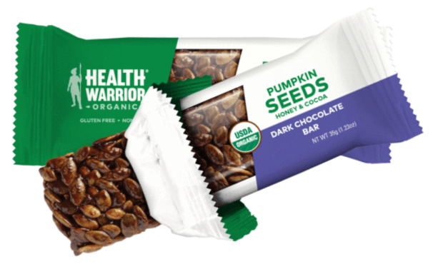 Health Warrior pumpkin seed protein bars