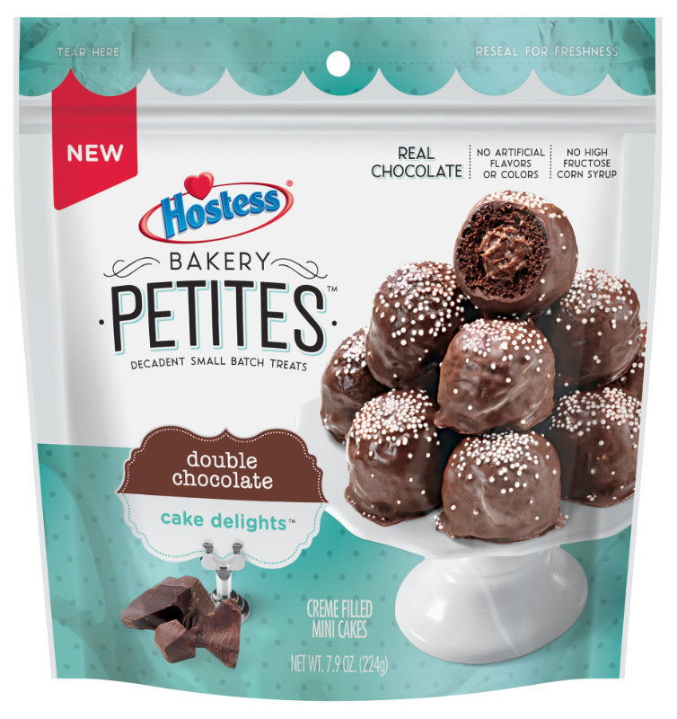 Hostess Bakery Petites double chocolate Cake Delights