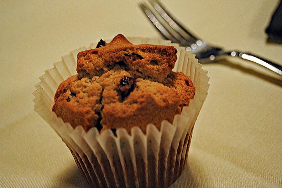 Cranberry orange muffins, Ardent Mills
