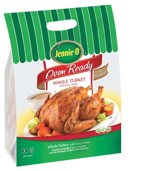 Jennie-O oven ready whole turkey, Hormel Foods