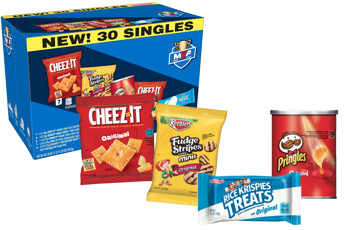 Kellogg single-serve snacks