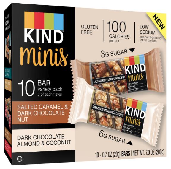 Kind Minis bars