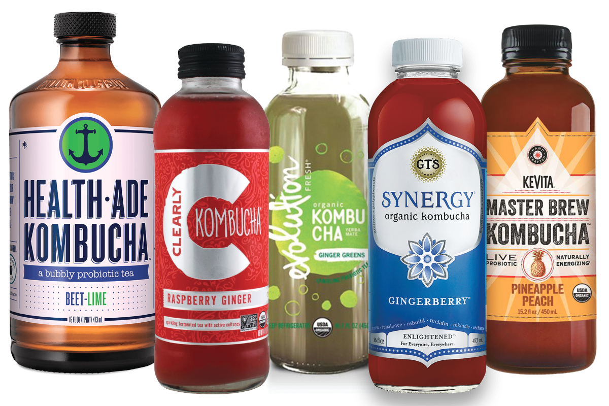 Kombucha brands