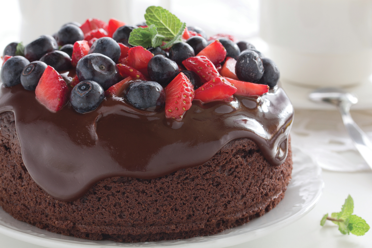 MGP Ingredients calorie-reduced chocolate cake