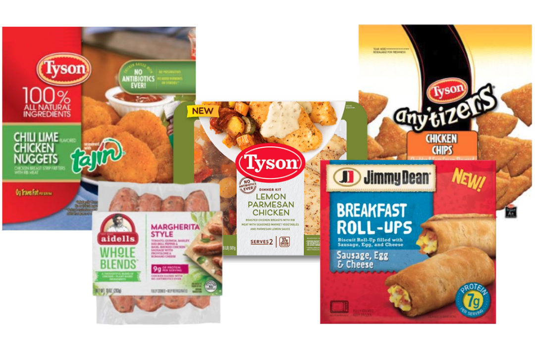 New Tyson Foods products