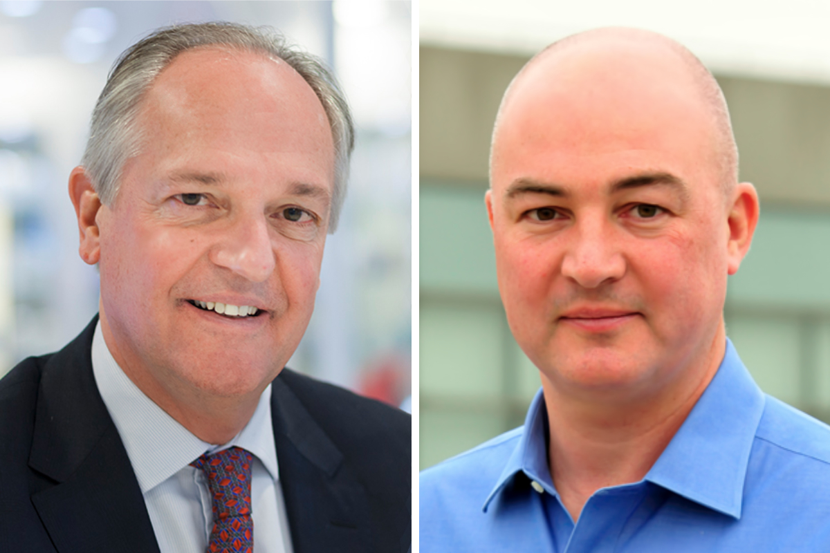 Paul Polman and Alan Jope, Unilever