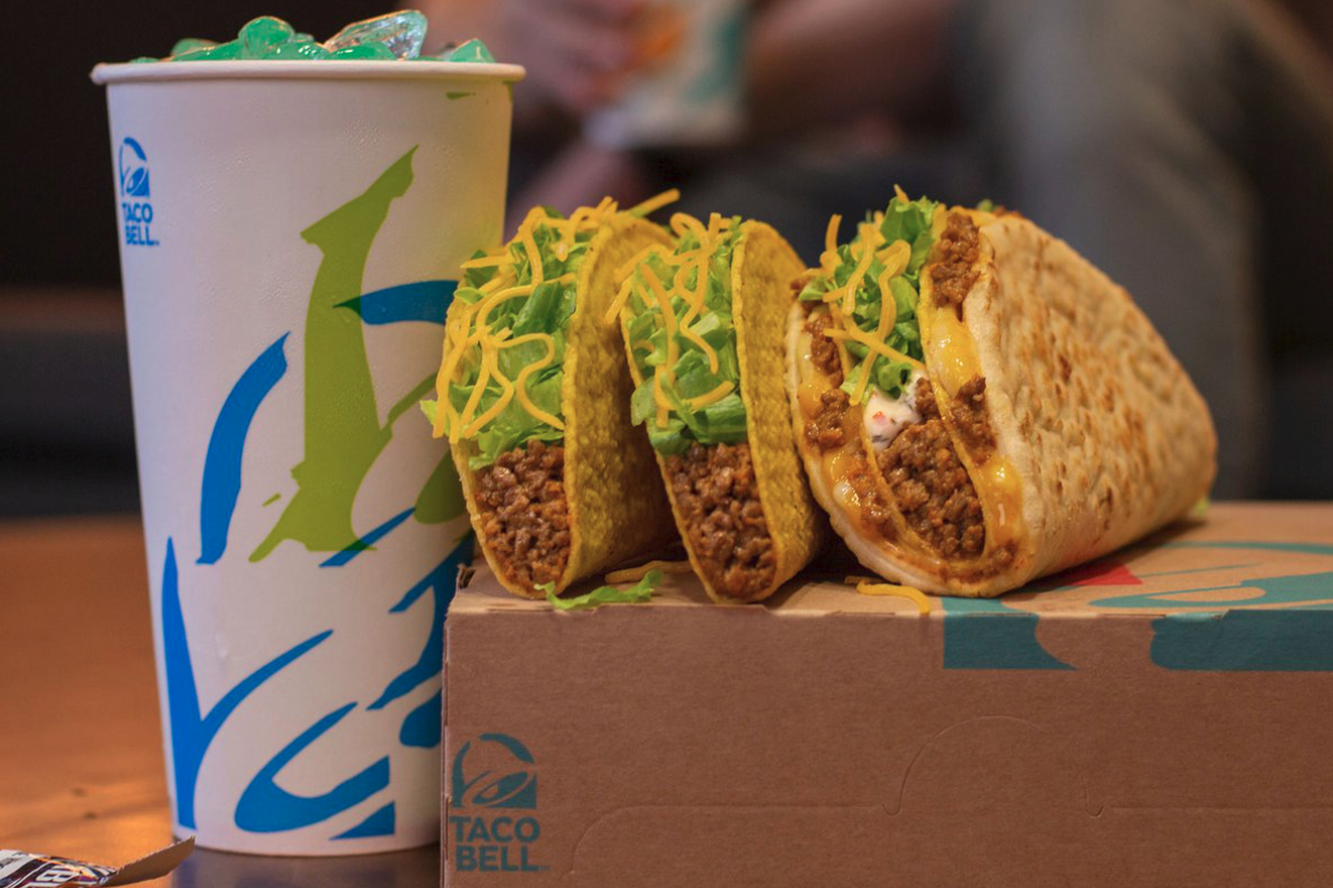 Taco Bell Double Cheesy Gordita Crunch
