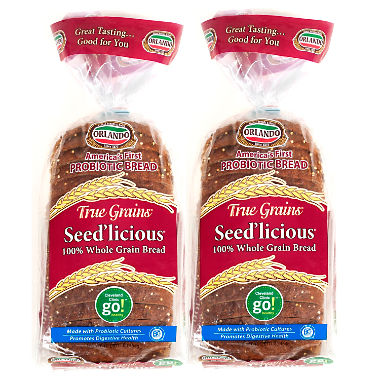 True Grains Seed'licious probiotic bread