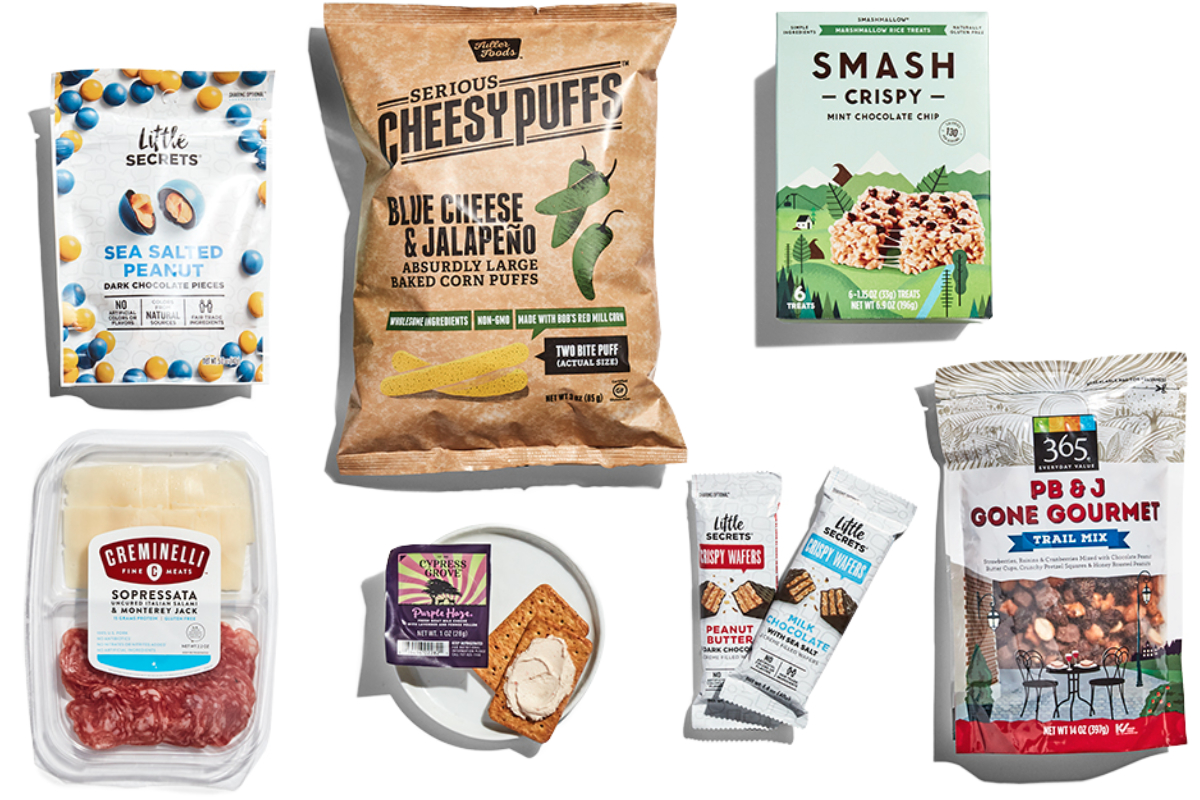 Whole Foods 2019 trends snack time upgraded