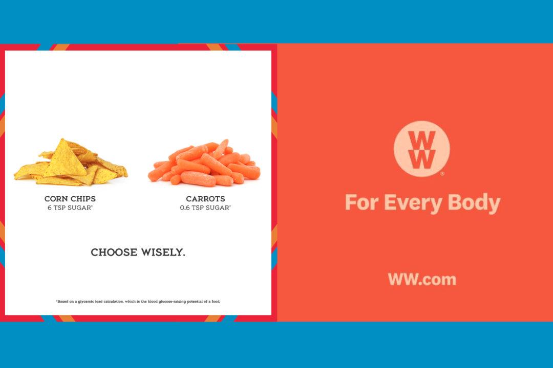 Atkins and Weight Watchers ads