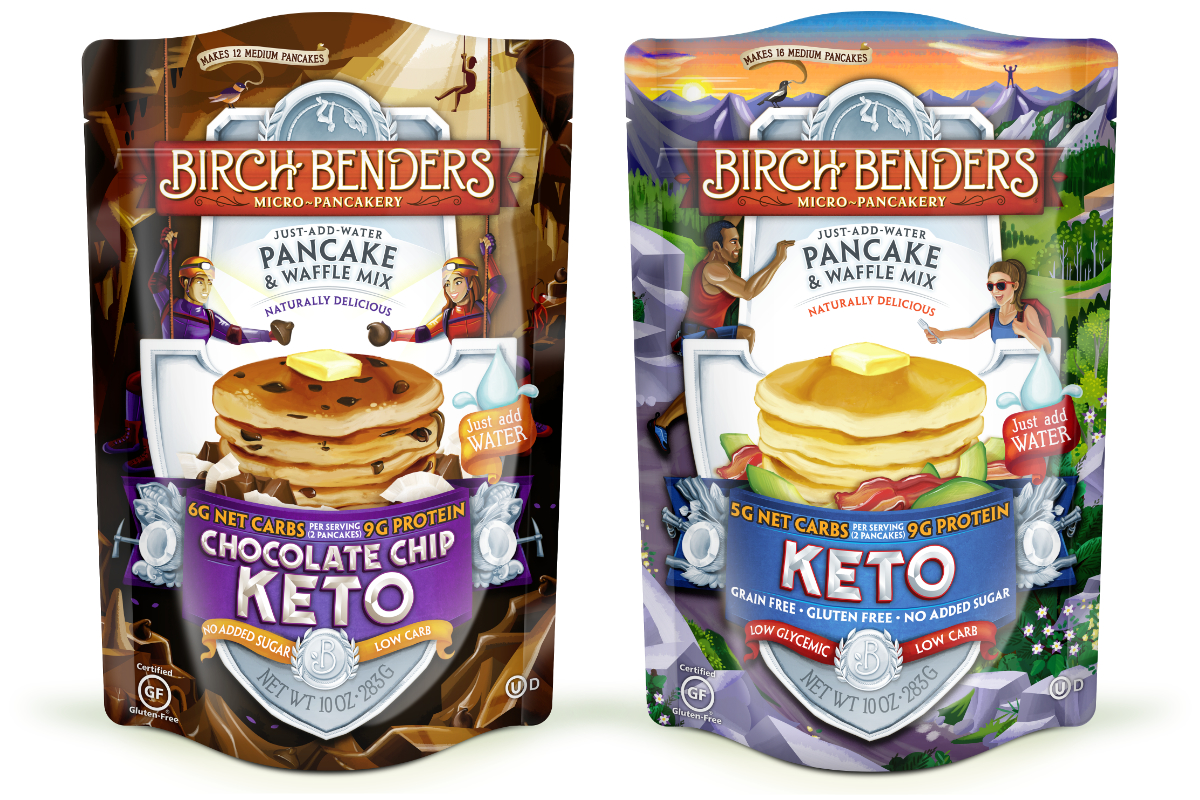 Birch Benders keto pancake and waffle mixes