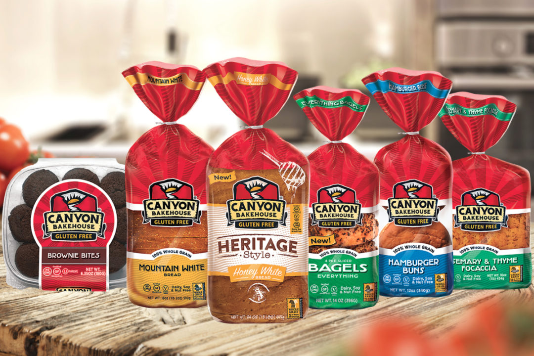 Canyon Bakehouse gluten-free products