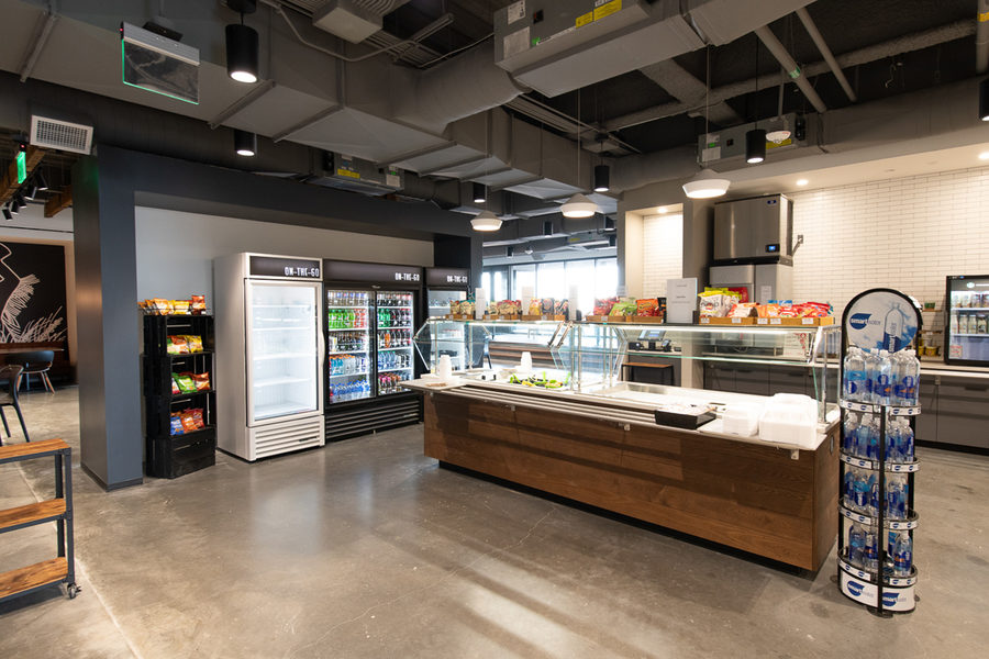Cargill new Protein HQ cafe