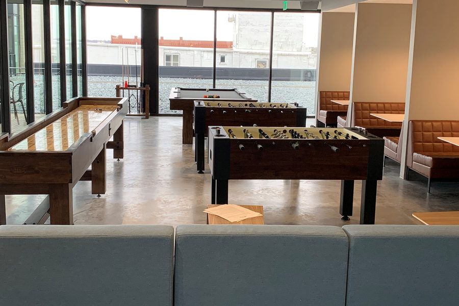 Cargill new Protein HQ game room