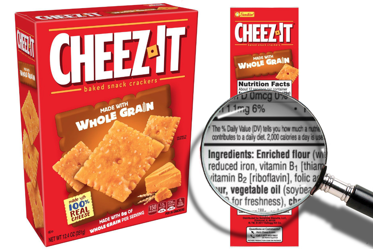 cheez-it whole grain labeling lawsuit revived | 2018-12-12 | food