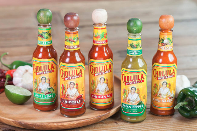 Cholula hot sauce varieties