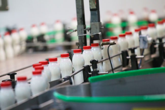 Dairy processing facility