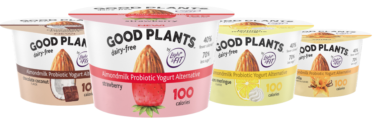 Danone Good Plants yogurt