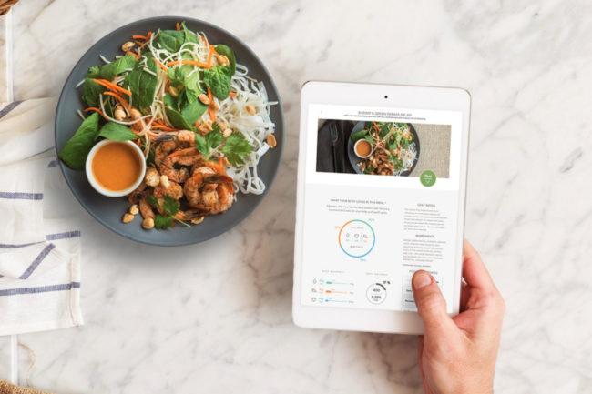 Habit personalized nutrition app