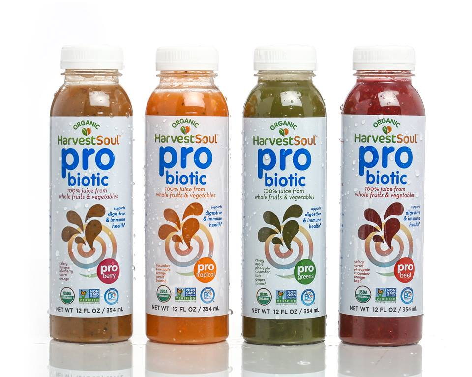 Harvest Soul probiotic beverages