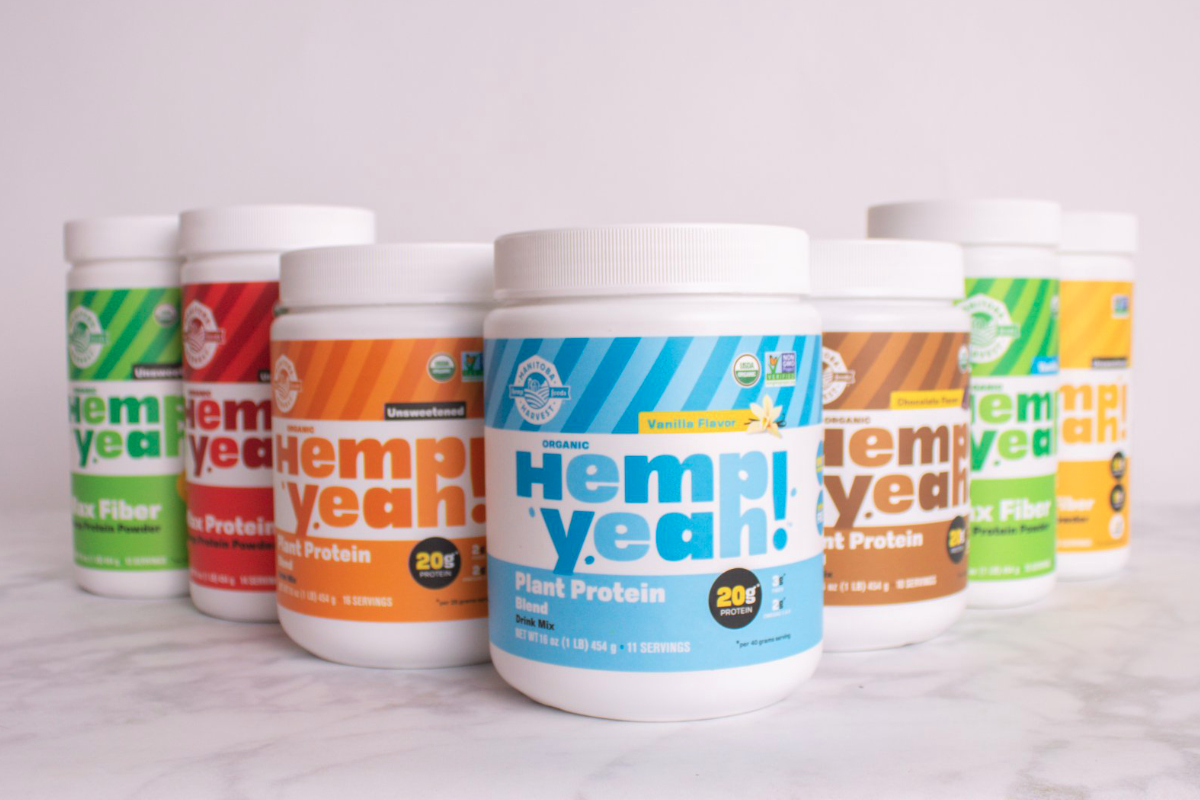 Hemp Yeah protein powder, Manitoba Harvest