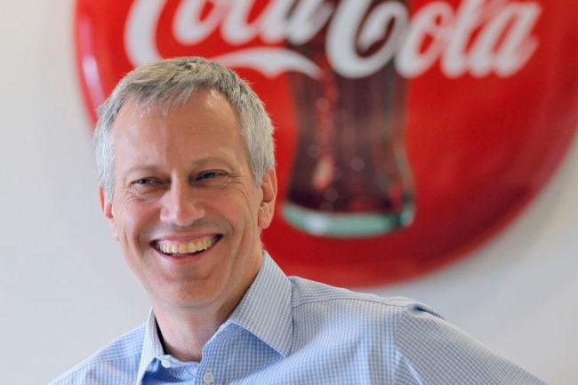 James Quincey, Coca-Cola