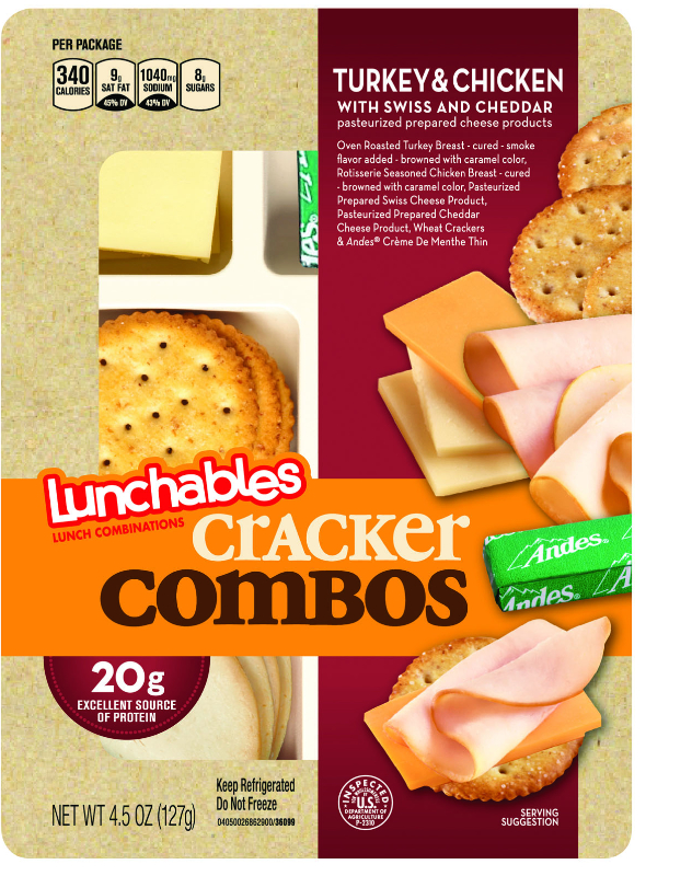 Lunchables Cracker Combos