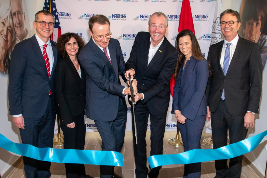 Nestle Health Science R&D center opening