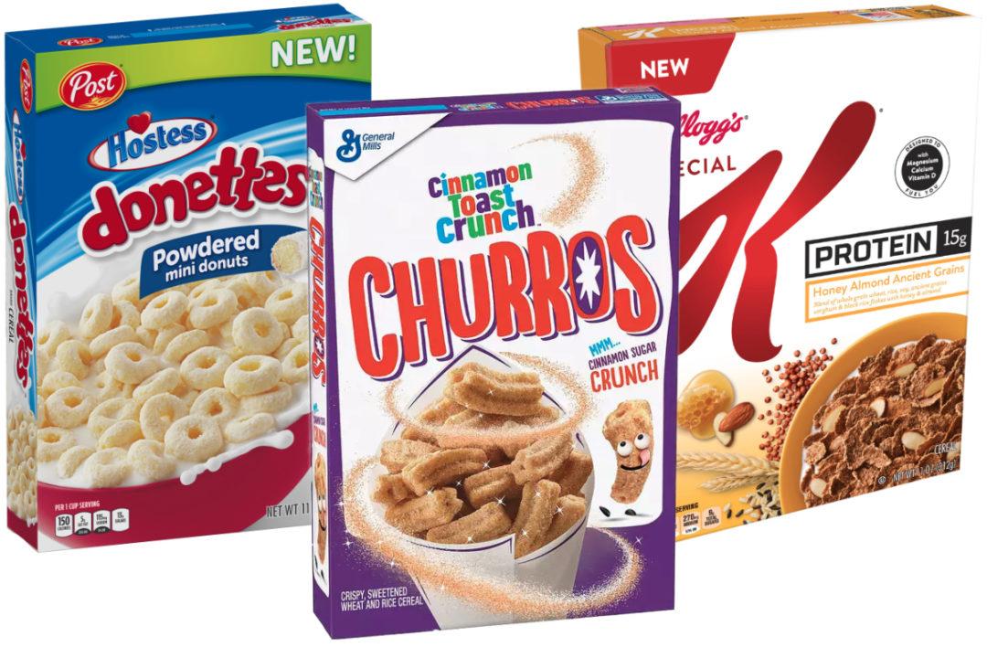 New cereal varieties