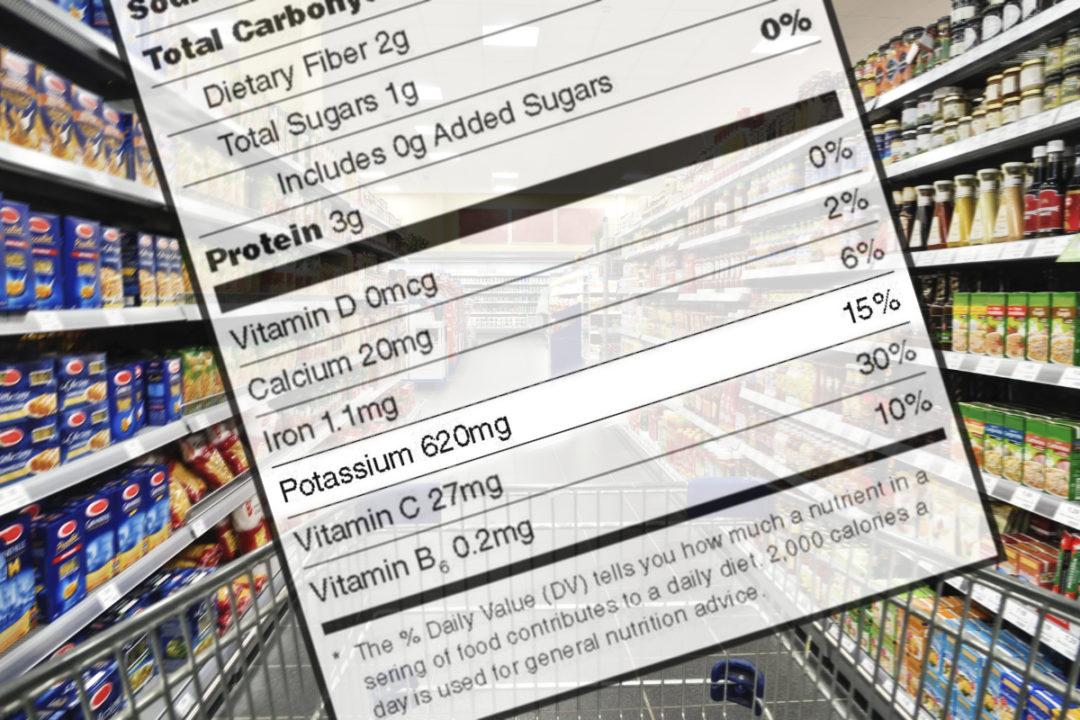 Potassium label