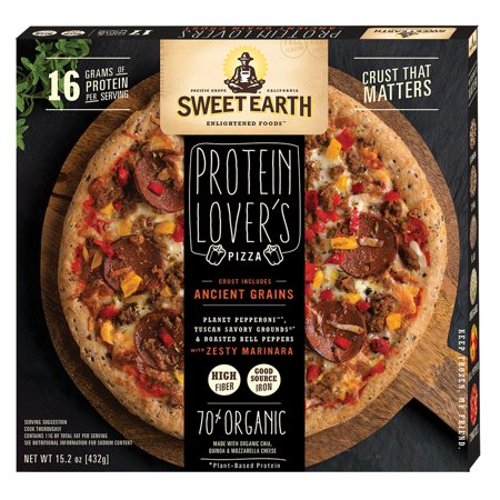 Sweet Earth Protein Lovers Pizza