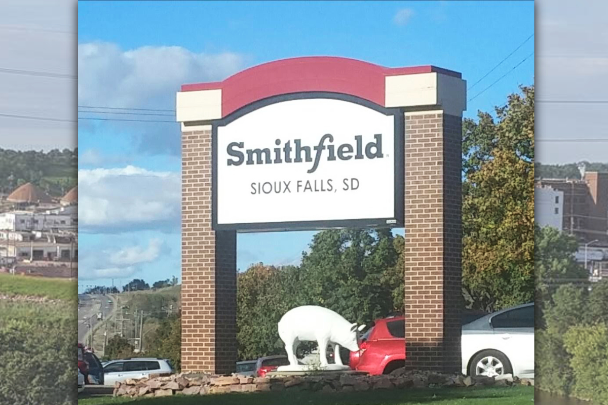 Smithfield Foods Sioux Falls, S.D., facility