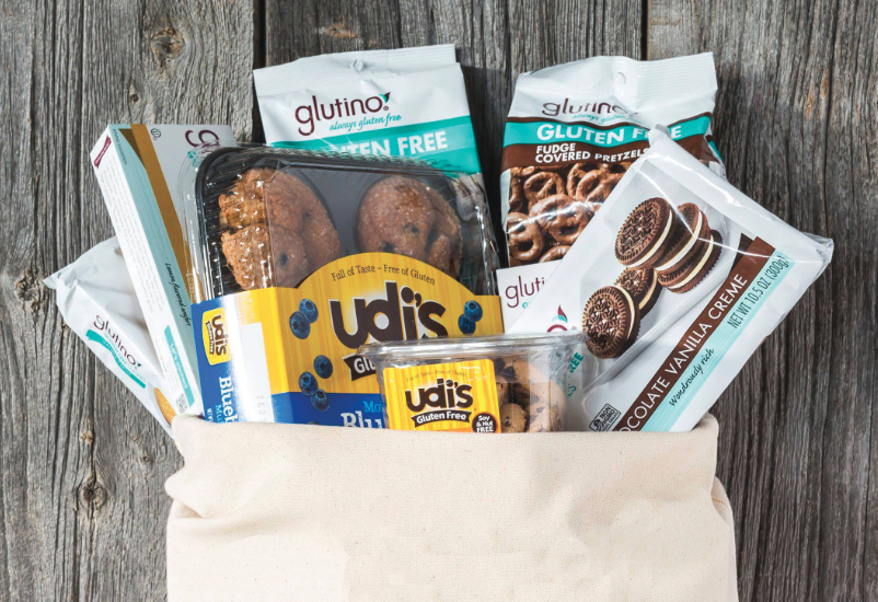 Udi's and Glutino gluten-free products