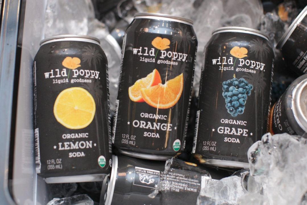 Wild Poppy organic soda