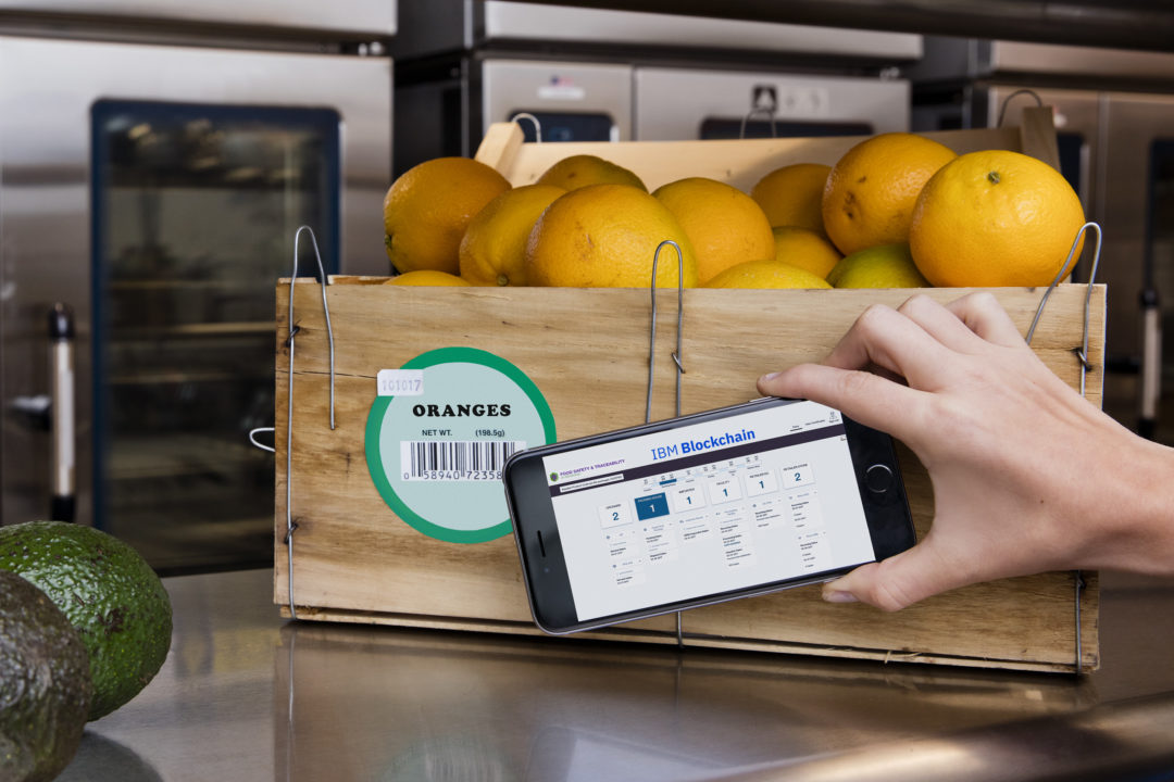 New ledger technology offers speed, transparency in food safety, product certifications.