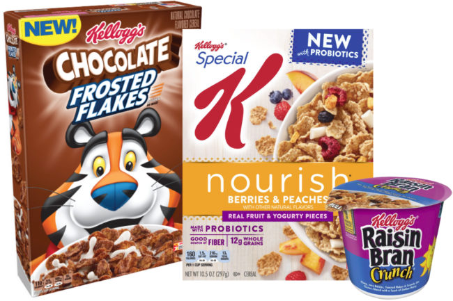 Kellogg products