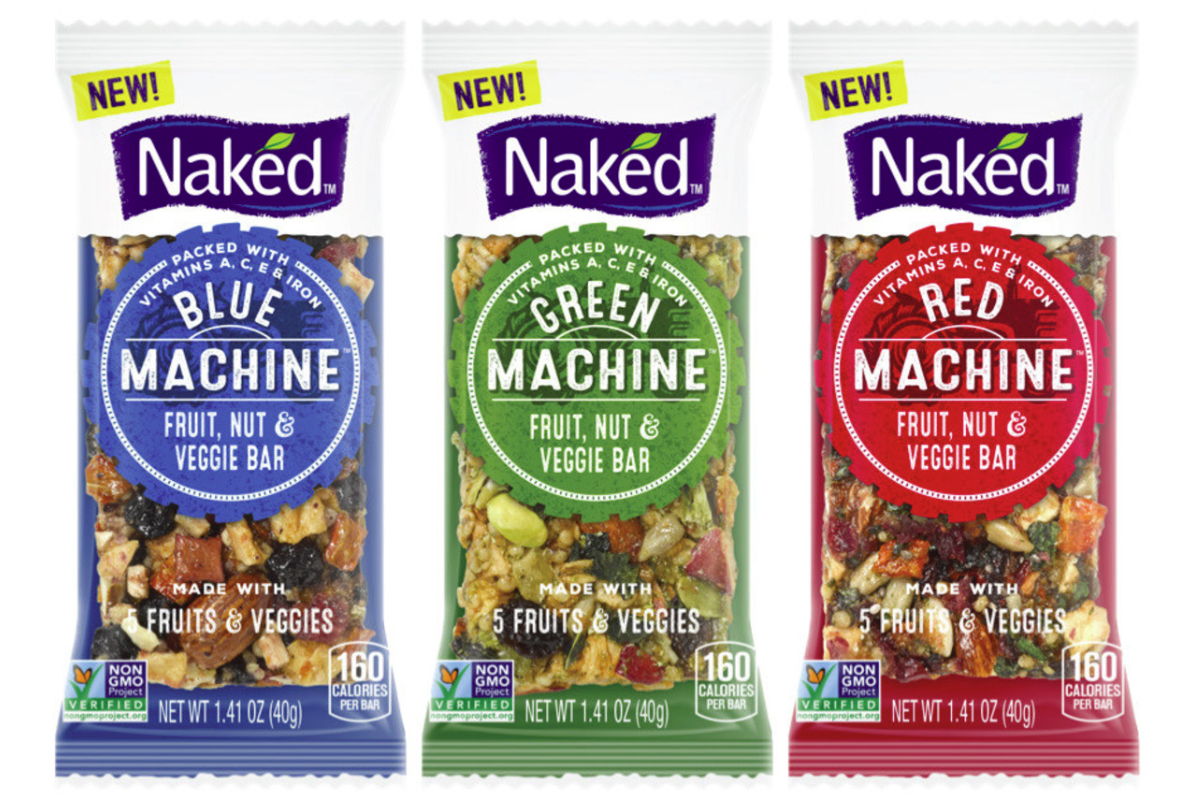 Naked enters nutrition bar category
