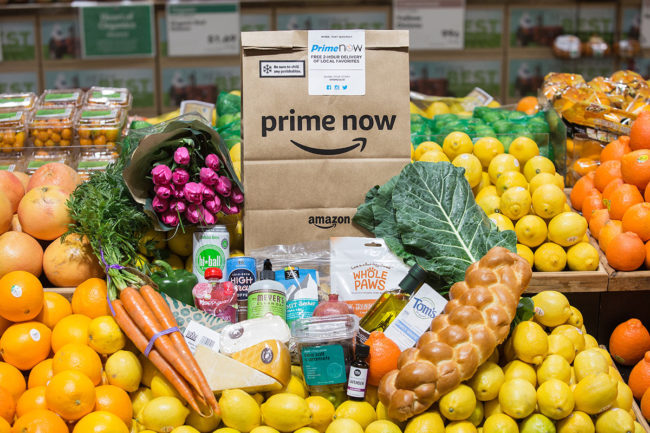 Amazon, Whole Foods delivery