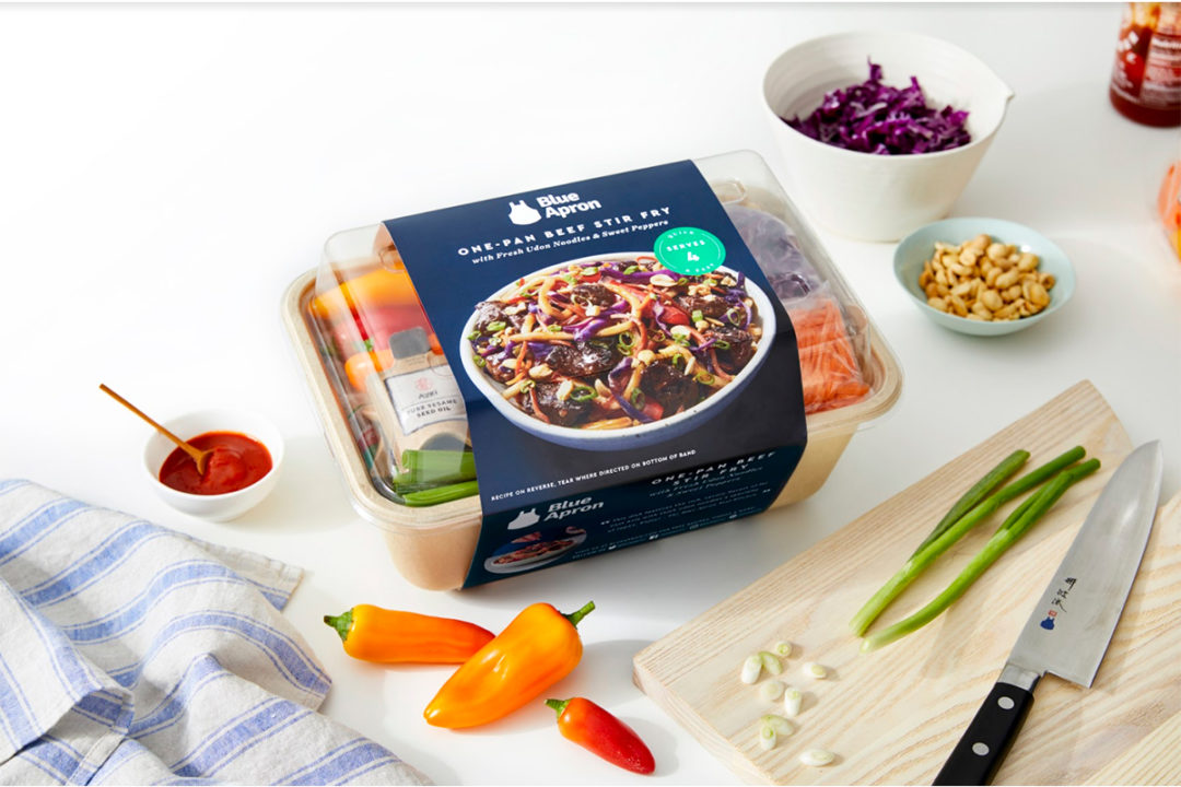 Blue Apron retail meal kit