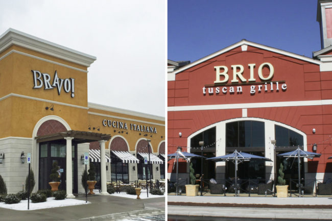 Bravo Cucina Italiana and Brio Tuscan Grille restaurants