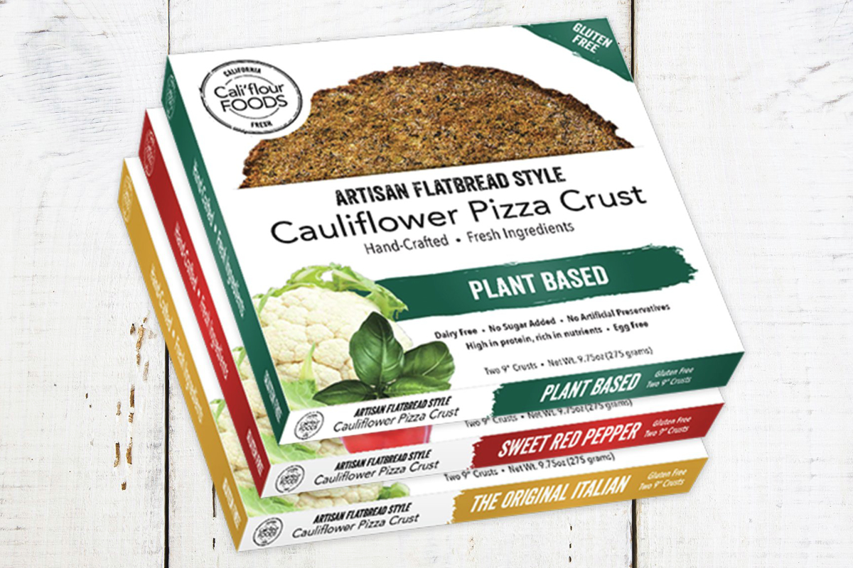 Cauliflour pizza crust