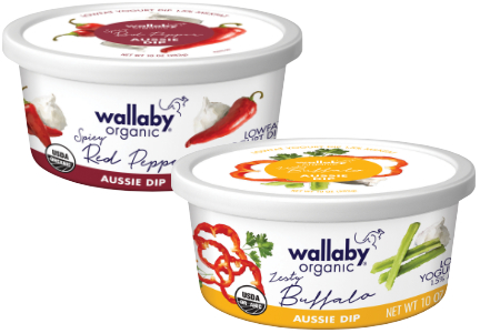 Wallaby Organic Dips